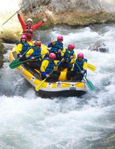 Rafting, una delle esperienze più divertenti sul Pollino