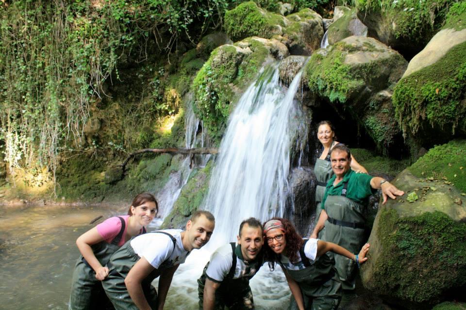 Canyoning sul Pollino